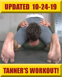 Jock Foot Fantasy - Tanner's Workout!
