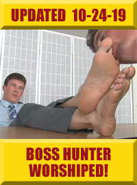 Jock Foot Fantasy - Boss Hunter Worshiped!