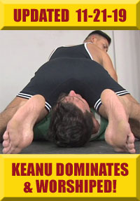 Jock Foot Fantasy - Keanu Worshiped & Dominates!