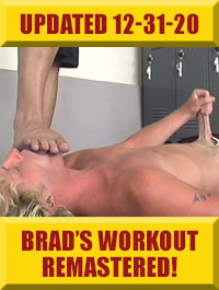 Jock Foot Fantasy - Brad's Workout Remastered & Extended!