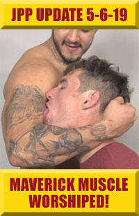 Jock Pits & Paws - Maverick Muscle Worshiped